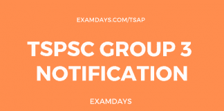 tspsc group 3 notification