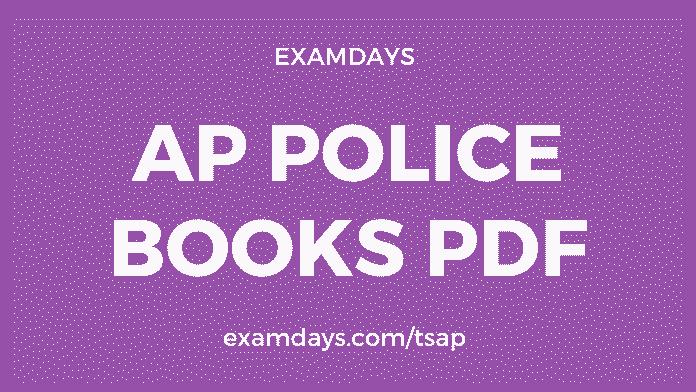 ap police books