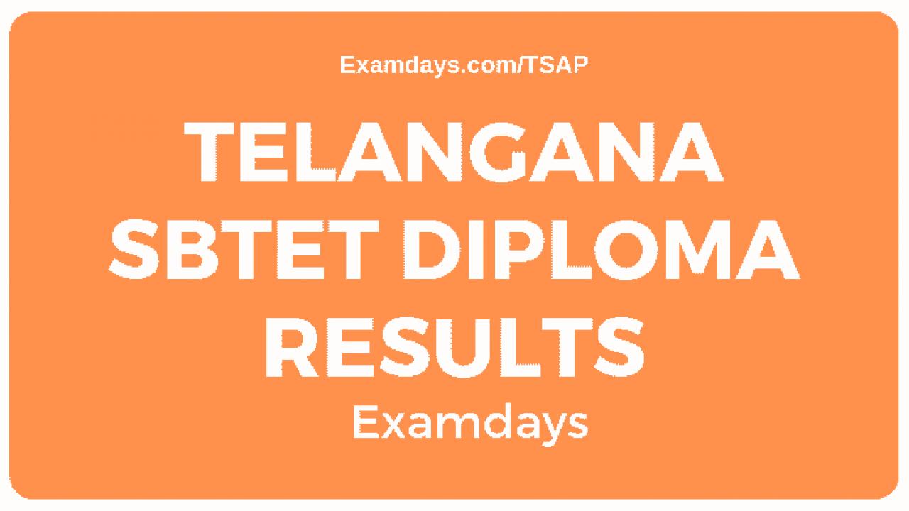 Manabadi diploma results 2020 ap