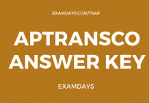 aptransco answer key