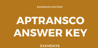 aptransco answer key