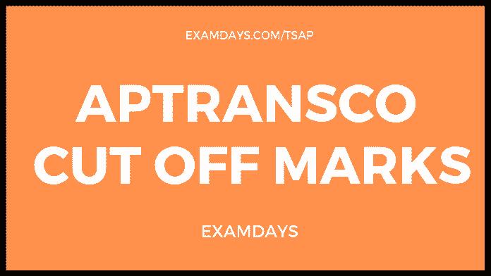 aptransco cut off marks