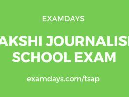 sakshi journalism school