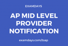 ap mid level provider notification