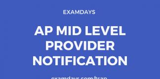 ap mid level provider notification