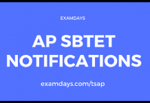ap sbtet notifications