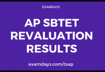 ap sbtet revaluation results
