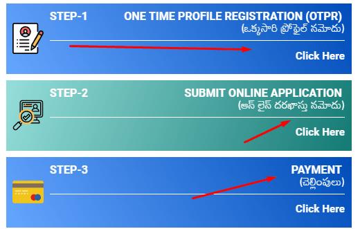 sachivalayam application online