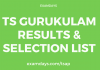 ts gurukulam results
