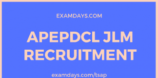 apepdcl jlm recruitment