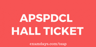 apspdcl hall ticket
