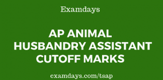 ap animal husbandry assistant cutoff marks