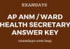 ap anm answer key