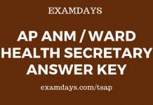 ap anm answer key