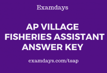 ap village fisheries assistant answer key