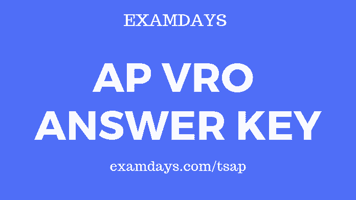 ap vro answer key