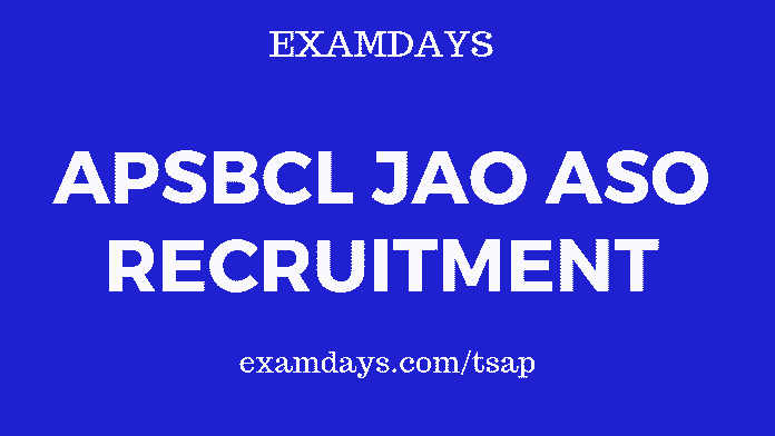 apsbcl recruitment