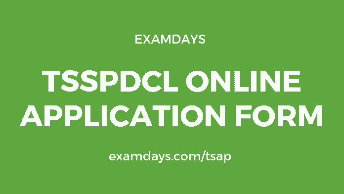 tsspdcl online application form