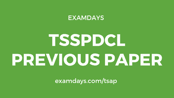 tsspdcl previous papers