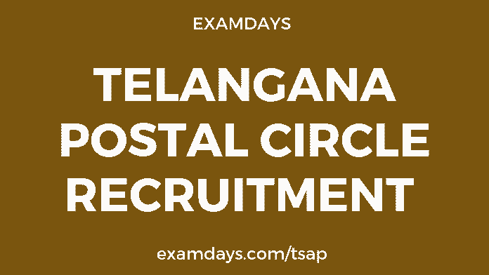 ts postal circle recruitment