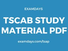 tscab study material