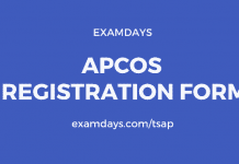 apcos registration form