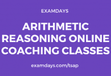 arithmetic reasoning classes