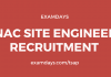 nac site engineer recruitment