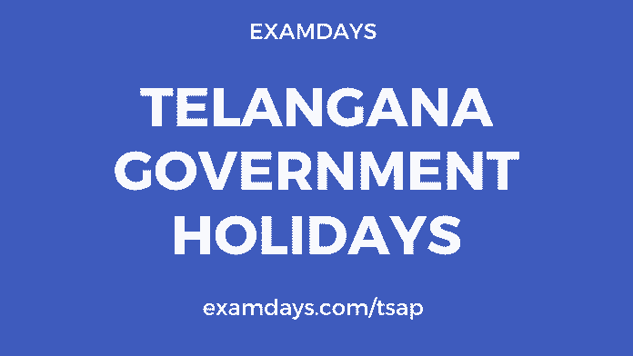 ts govt holidays