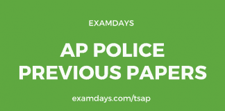 ap police previous papers