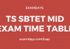 ts sbtet mid exam time table