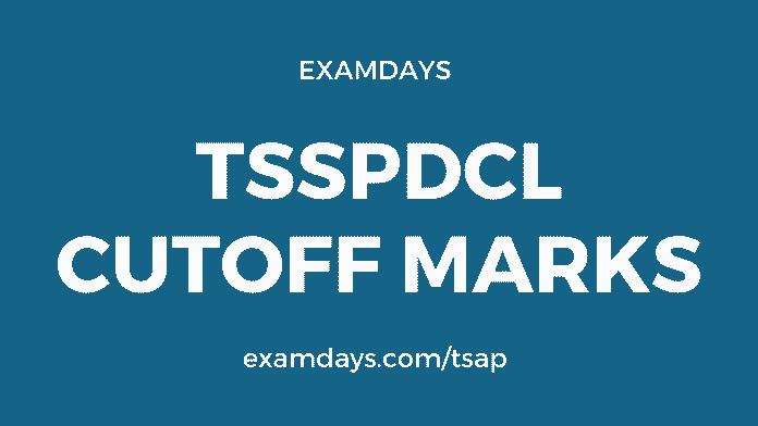 tsspdcl cutoff marks