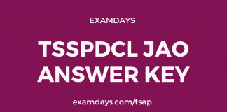 tsspdcl jao answer key