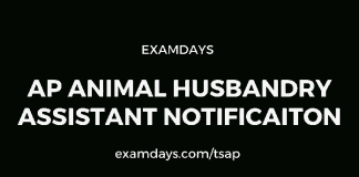 ap animal husbandry assistant notification