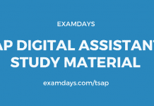 ap digital assistant study material