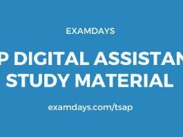 ap digital assistant study material