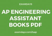 ap engineering assistant books