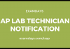 ap lab technician notification