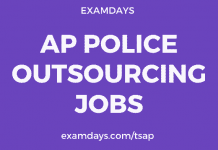 ap police outsourcing jobs