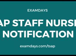 ap staff nurse notification
