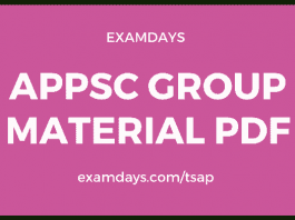 appsc gro.ups study material