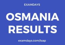 osmania results