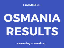 osmania results