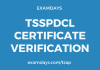 tsspdcl certificate verification