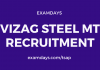 vizag steel mt recruitment