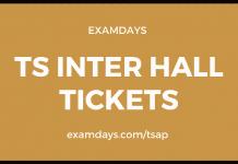 ts inter hall tickets