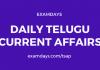 daily telugu current affairs