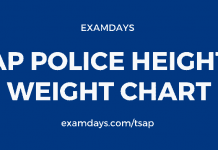 ap police height weight chart
