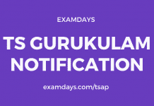 ts gurukulam notification