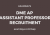 dme ap assistant professor jobs
